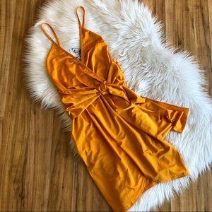 NWT- Orange Dress from Boohoo